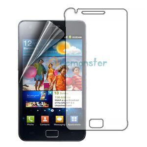 2x Clear LCD Screen Protector Cover for SamSung Galaxy S2 II i9100 GT-i9100