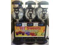 Kream line slush machine 3x6ltr_,,come fast-,,,boost sale-,,,