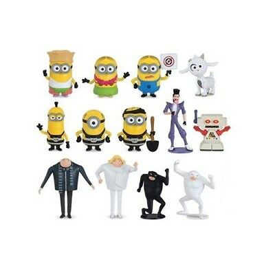 Thinkway Toys Despicable Me: 3 Collectible Characters/Figures Gru, Minions, - Collectible Minions