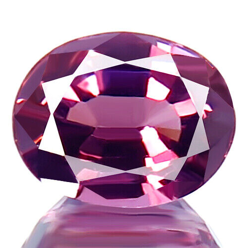 1.39ct WOW RARE AWESOME 100% NATURAL UNHEATED LILAC PURPLE SPINEL STUNNING GEM!