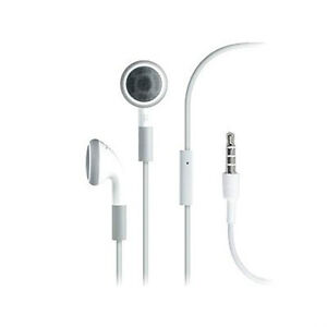 Earphone Headset With Mic for iPhone 4 3GS 3G i Pod Touch Nano Headphone Earbuds