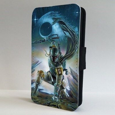 Boba Fett Star Wars Character FLIP PHONE CASE COVER for IPHONE SAMSUNG