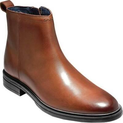 NEW Cole Haan C28106 Men's   Bernard Zip Ankle Boot WOODBURY SZ 11.5 USA EUR 44 - Bernard Boots
