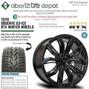 SALE Toyo OBSERVE G3-ICE Tires RTX Winter Rims walnut shell Sandpaper Technology Snow Ice 275/35R20 265/70R16 265/60R18