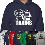 I Like Trains T Shirt