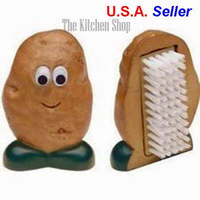 Potato Brush -  Spud Dude Potato Brush Cleaning Scrub Vegetable Brush Kitchen Tool (Free Ship)