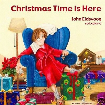 JOHN EIDSVOOG: Christmas Time Is Here [CD] Solo Piano Jazz Instrument Holiday ()