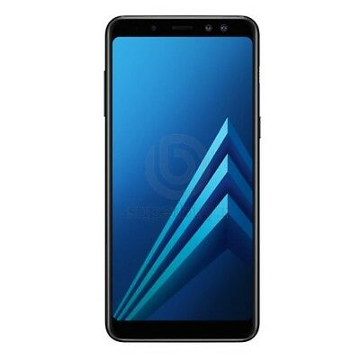 Samsung Galaxy A8 2018 SM-A530 32GB Black 4GB RAM Dual Sim ITALIA No Brand