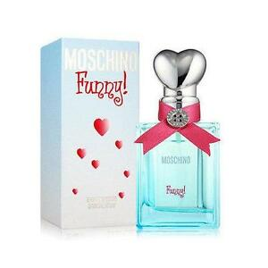 MOSCHINO FUNNY * Perfume for Women * 3.3 / 3.4 oz * edt * New In Retail Box