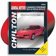 Camaro Repair Manual