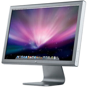"Apple 20"" Thunderbolt Flat Panel LCD Monitor with DVI connectors"