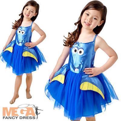 Finding Dory Fish Girls Fancy Dress Disney Pixar Childrens Kids Costume Outfit](Fish Fancy Dress Costumes)
