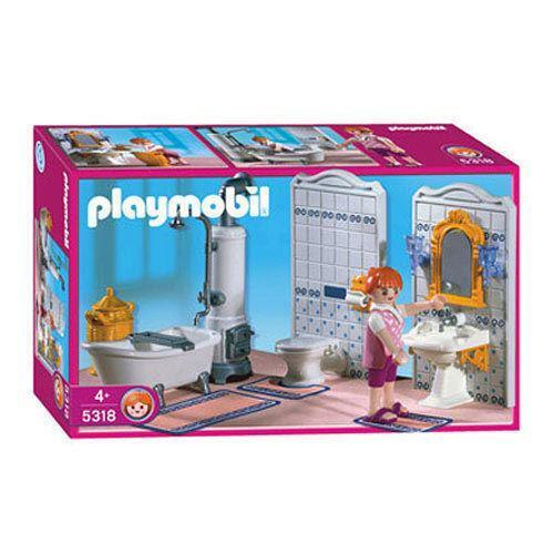 playmobil grande mansion ebay. Black Bedroom Furniture Sets. Home Design Ideas