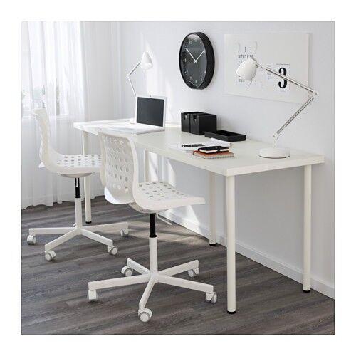 Ikea Linnmon White Desk Table Top