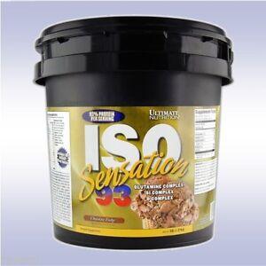 Iso sensation protein powder