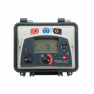 Megger Mit515 1001-936 5 Kv Insulation Resistance Tester