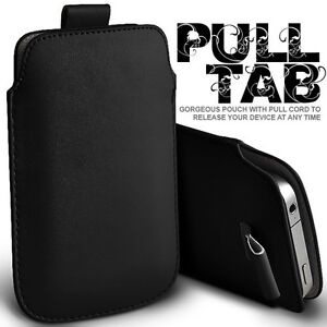 Pull Tab PU Leather Sleeve Pouch Pocket Bag Case Cover Skin for iPhone 4 4G 4S