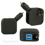 Dual USB Port Car Auto Charger