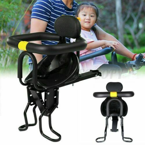 Kids Front Bike Seat Child Bicycle Safety Chair Baby Carrier Saddle w/ Handle US