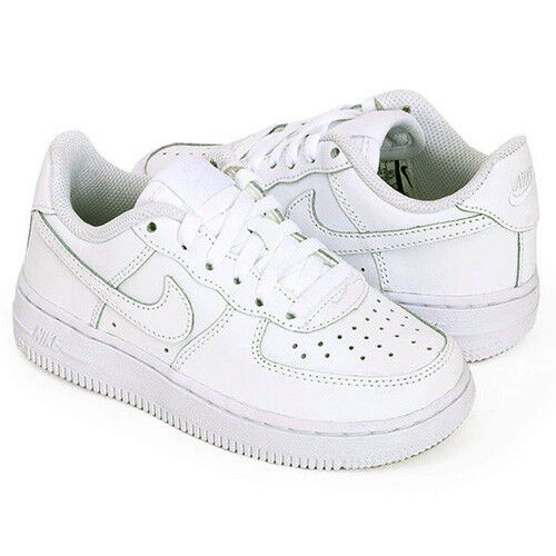 Nike Air Force 1 PS Kids Children Uptown Classic Leather Low Shoes 314193-117