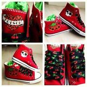 Red Rockabilly Shoes
