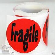 Fragile Stickers 500