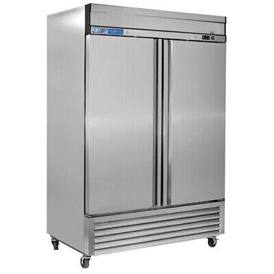 Kratos Two Door Reach-in Refrigerator 49 Cubic Ft.