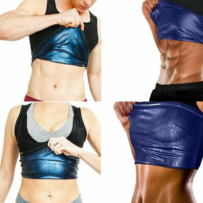 Sweat Sauna Shaper Women Men Slimming Sports Vest Tank Weight Loss Shapewear US