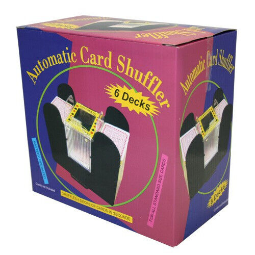 1-6 Decks Automatic Card Shuffler BlackJack Poker