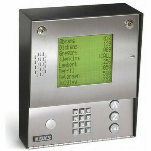 Doorking 1837-080 Telephone Entry & Access Control System, Surface Mount