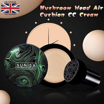 Air Cushion + Mushroom Head CC Cream Concealer Moisturizing Makeup BB Foundation