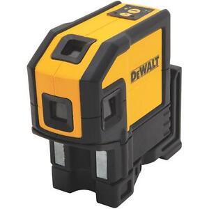 DEWALT DW0851 Niveau laser autoniveleur à 5 faisceaux étroits et à ligne horizontale neuffffffff