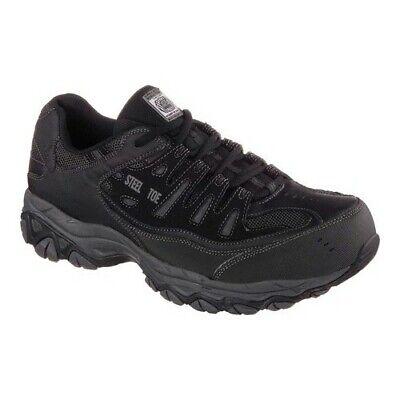 c3392e2b50c5 Skechers Men's Work Relaxed Fit Crankton Steel Toe Shoe