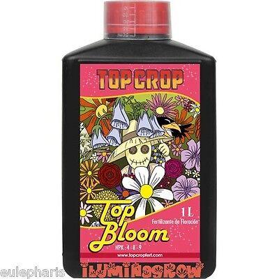TOP BLOOM 1L Abono de Floracion , Fertilizante TOP CROP