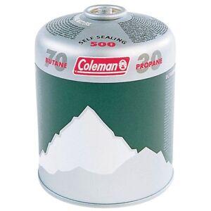 3 X Coleman C500  Butane Propane Gas Refill cylinder cartridge