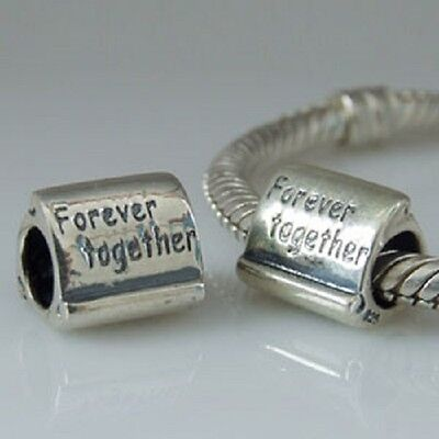 Forever Together 925 Sterling Silver Charm Bead