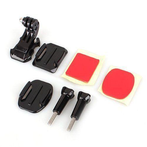 Camera Helmet Front Mount Adhesive Kit for GoPro Hero 3 2 1 Camera Black