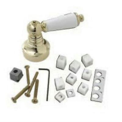 BrassCraft Universal Polished Brass/White Decorative Faucet Handle, SH5750 ()