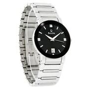 Bulova Mens Watch Diamond