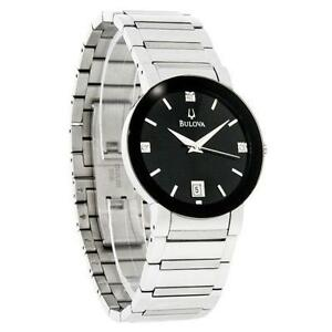 mens diamond watch men s bulova diamond watches
