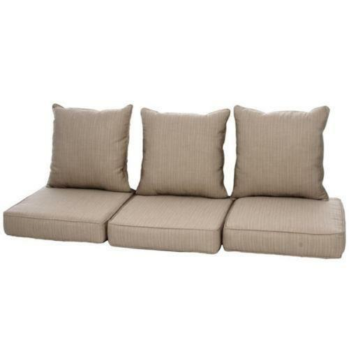 Patio Furniture Loveseat Cushions: Outdoor Couch Cushions