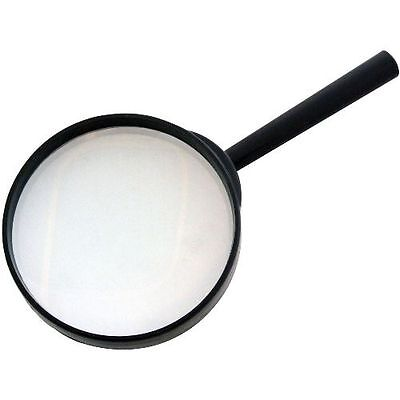 """100mm 4"""" Magnifying Glass Minimal Distortion Magnifier Optical Eye Reading Hobby"""