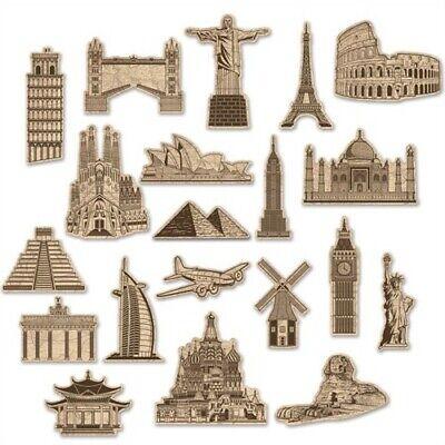 Landmarks Around The World (Around The World Cutouts Landmarks International)