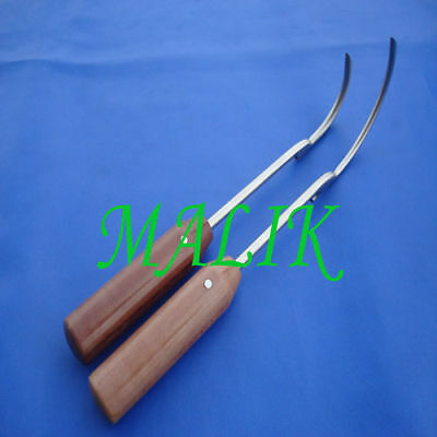10 Wire Passer 45mm 70mm Fibre Handle Orthopedic Insts