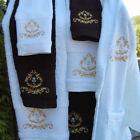 Embroidered Hand Bath Towels & Washcloths