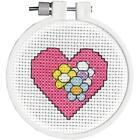 Love & Hearts Cross Stitch Kits