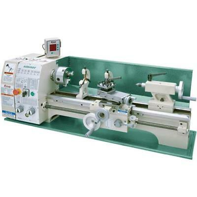 """G0602Z Grizzly 10"""" x 22"""" Benchtop Metal Lathe with DRO"""