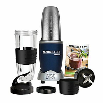 NutriBullet 1 Speed Setting 1000W Series 9 Piece Set - Blue
