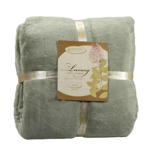 king size fleece blanket ebay. Black Bedroom Furniture Sets. Home Design Ideas