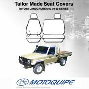 Landcruiser 80 Series Seat Covers